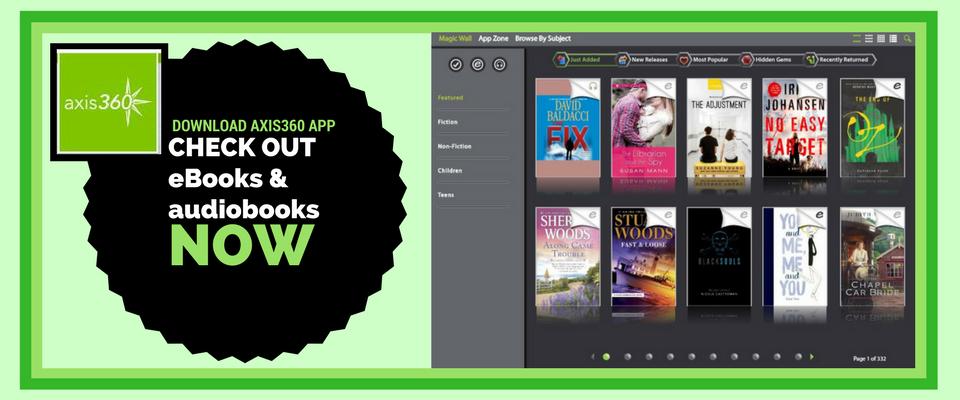 Download eBooks and audiobooks with your Library card!