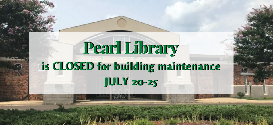 Pearl Library closed